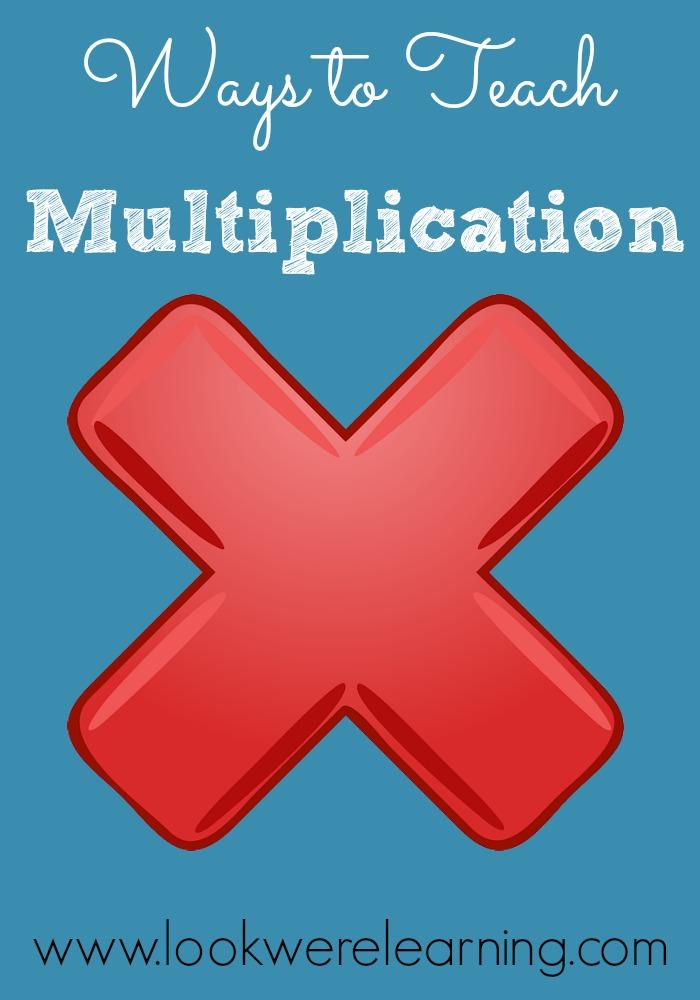 Ways to Teach Multiplication