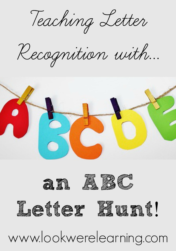 ABC Letter Hunt for Letter Recognition