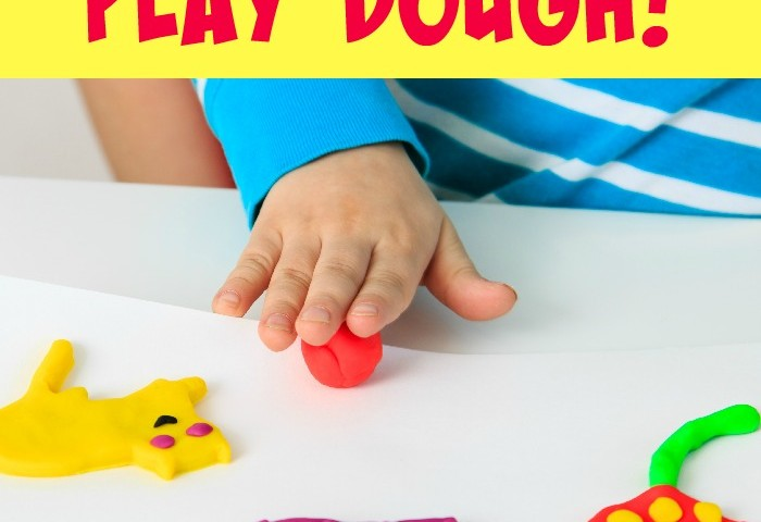 Building Fine Motor Skills with Play Dough