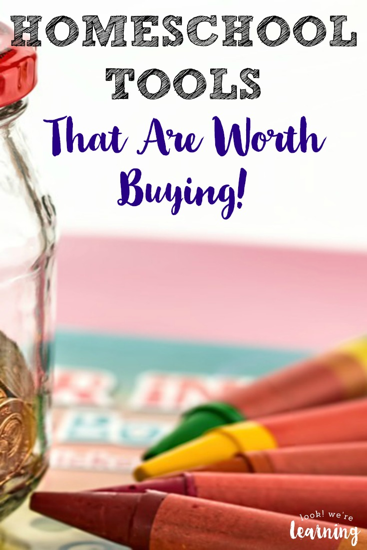 Make your homeschooling dollar stretch with this list of homeschool tools that are truly worth buying!