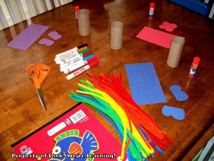Toilet Roll Butterfly Craft Supplies