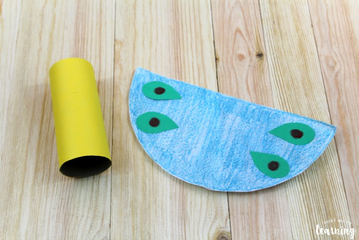 Easy Toilet Roll Butterfly Craft
