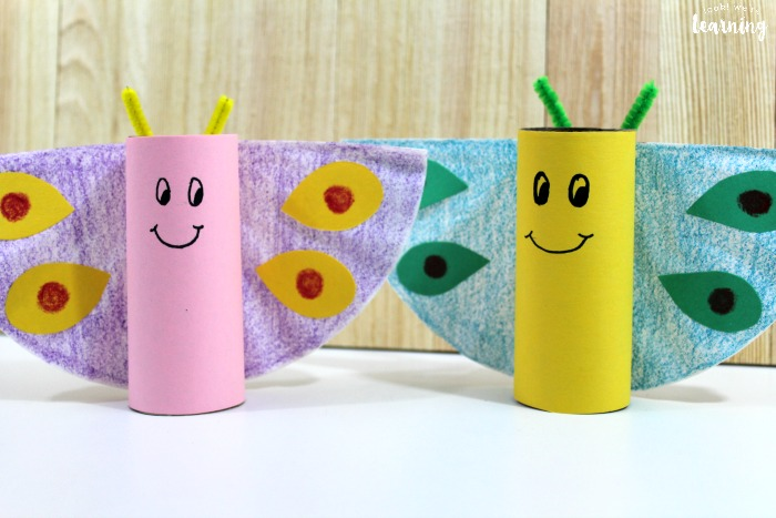 Fun Spring Butterfly Craft for Kids