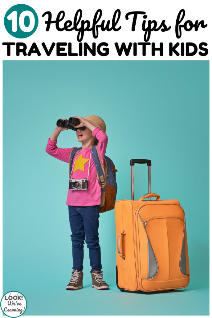 Make your next vacation a breeze with these helpful tips for traveling with kids!