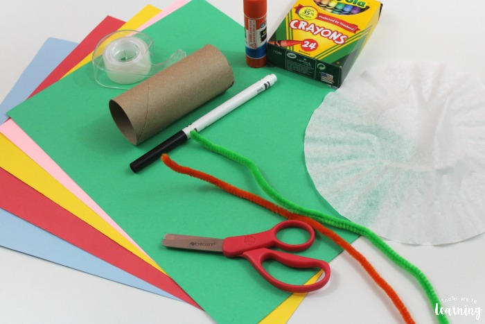 Making a Spring Butterfly Craft