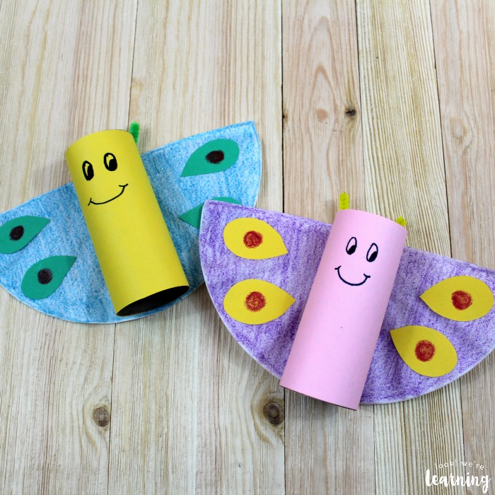 Simple Spring Butterfly Craft