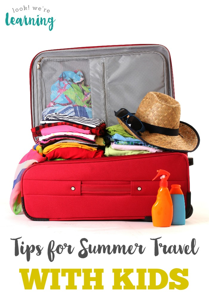 Tips for Summer Travel with Kids