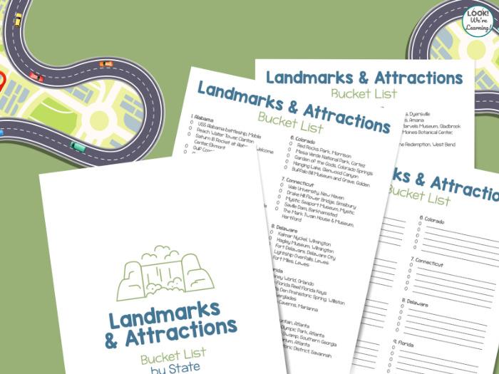 U.S. Landmarks Family Bucket List