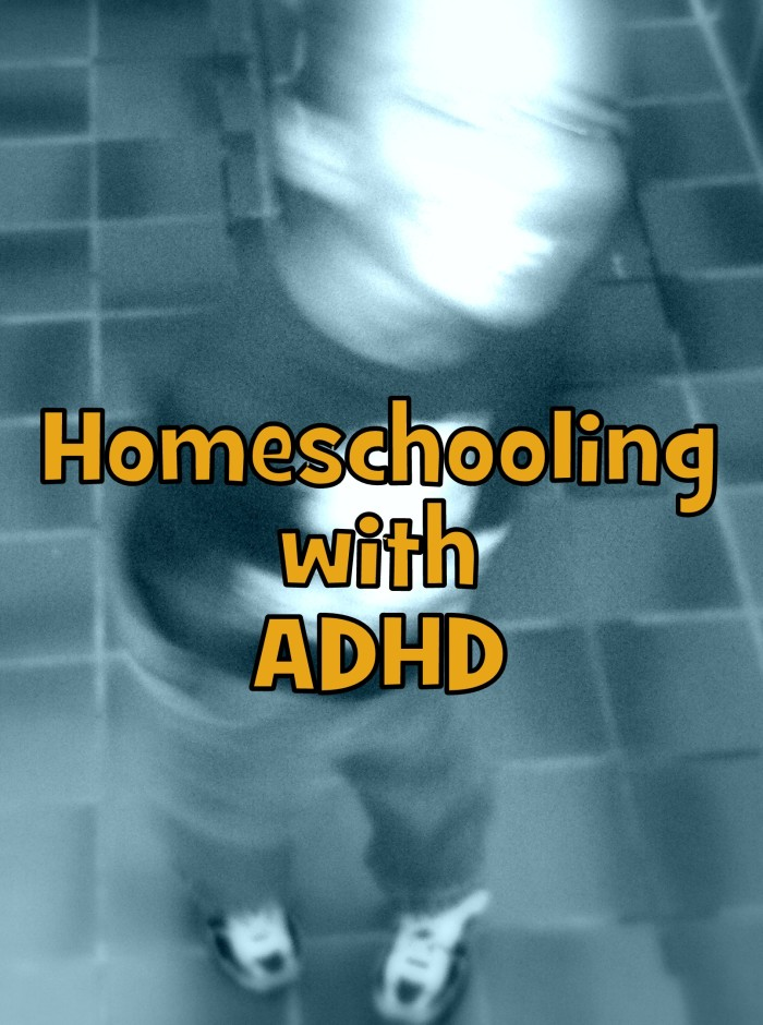 Homeschooling with ADHD - Look! We're Learning!