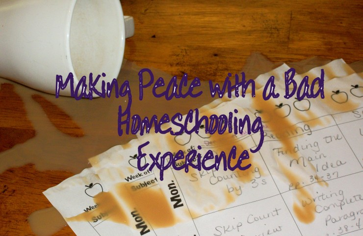 Guest Post: Making Peace with a Bad Homeschooling Experience