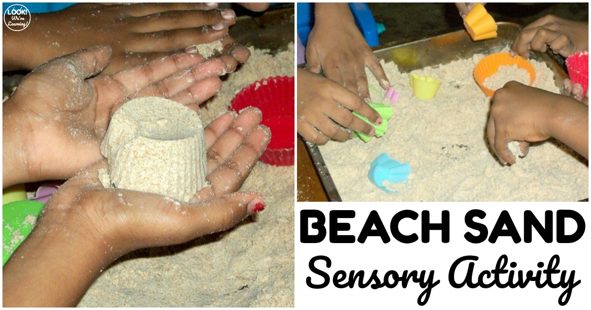 Fun Play Beach Sand Sensory Activity for Kids