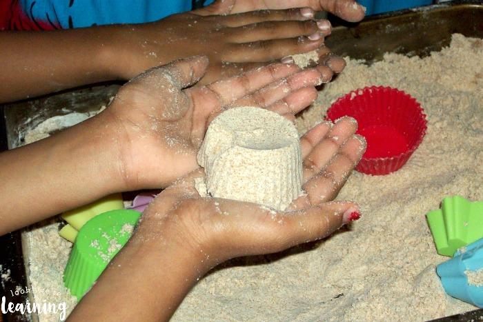 How to Make Sensory Sand