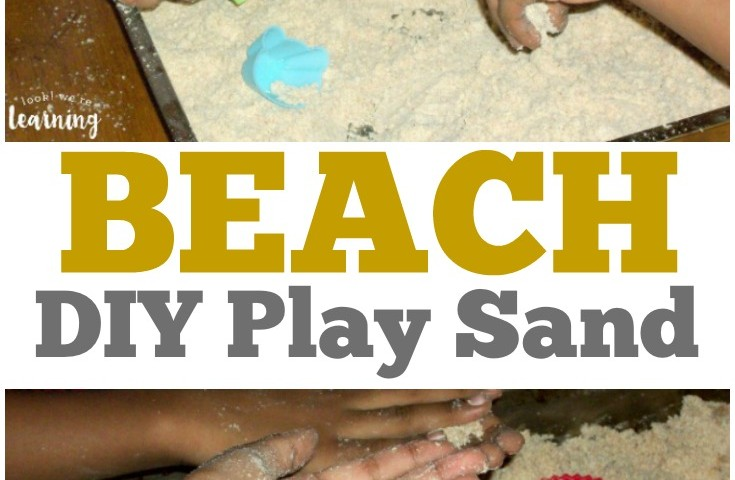 DIY Beach Play Sand