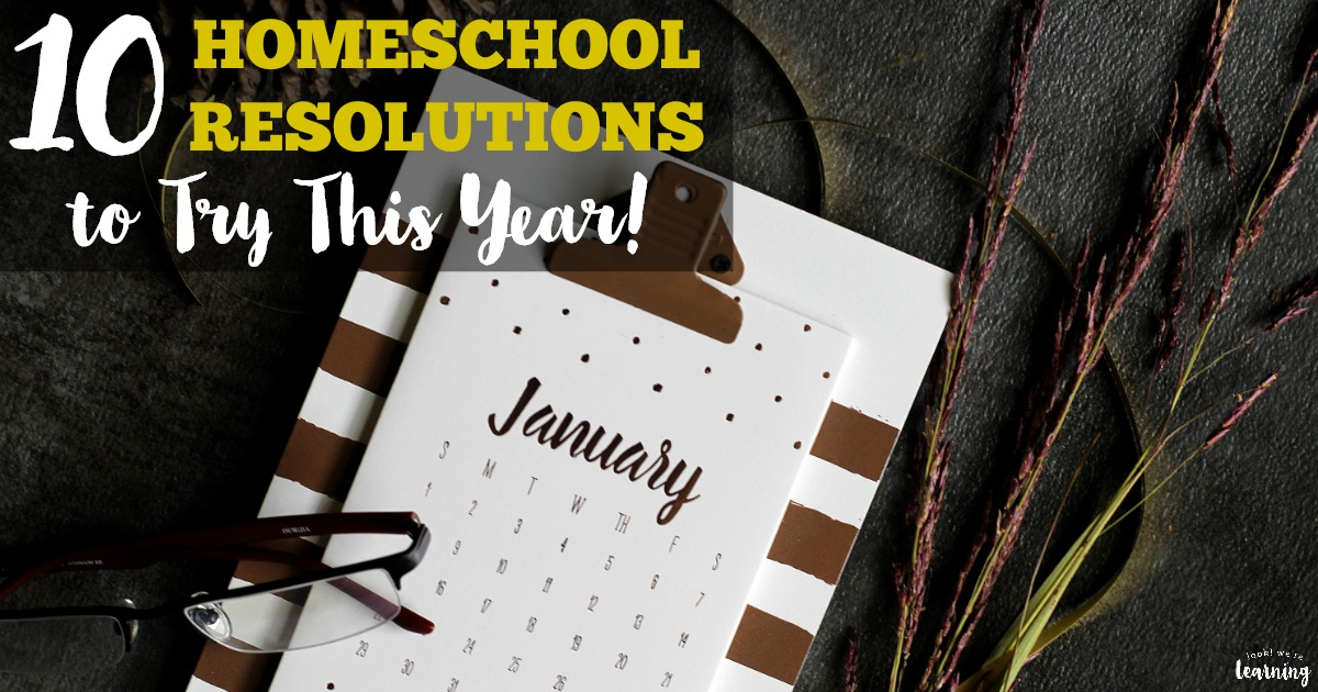 10 New School Year Resolutions to Try