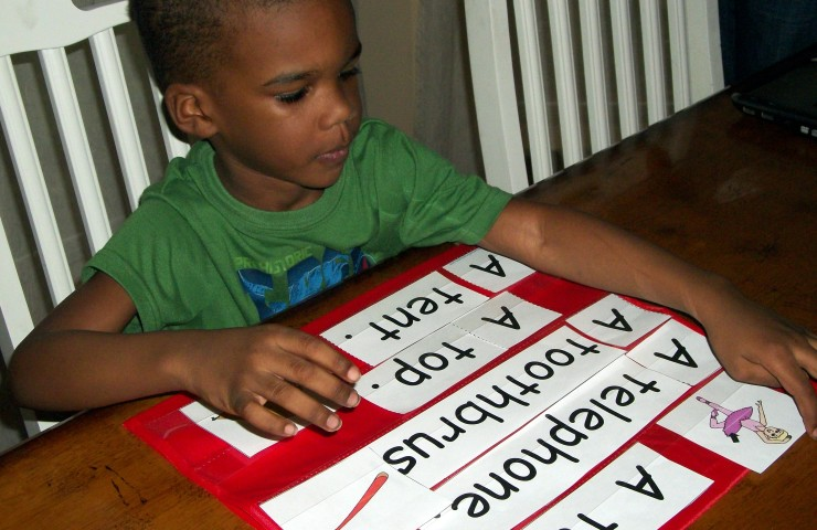 Review: Reading the Alphabet Early Reading Program