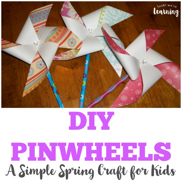Easy DIY Pinwheel Craft for Kids