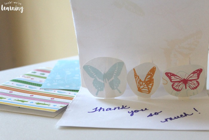 How to Make DIY Pop Up Thank You Cards