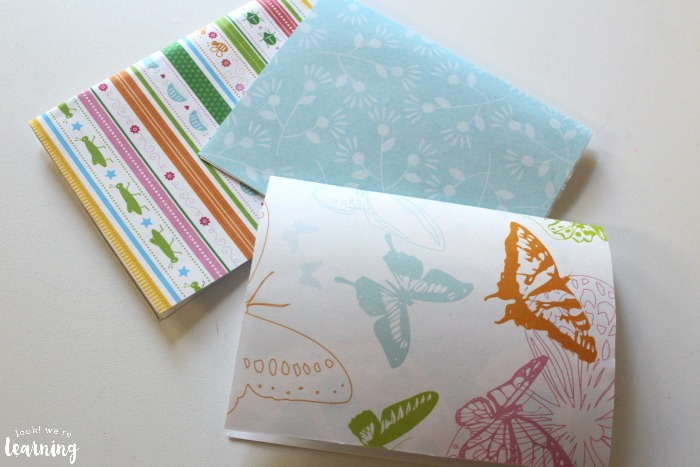Making DIY Pop Up Thank You Cards with Kids