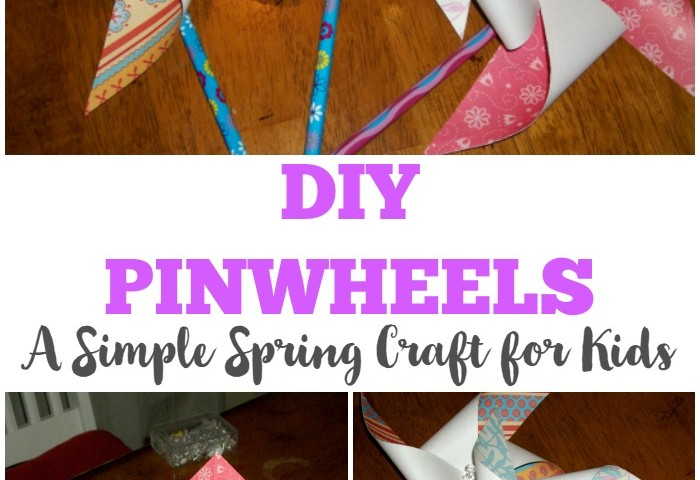 Simple DIY Pinwheel Craft for Kids