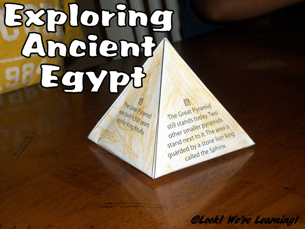 Exploring Ancient Egypt: Look! We're Learning!