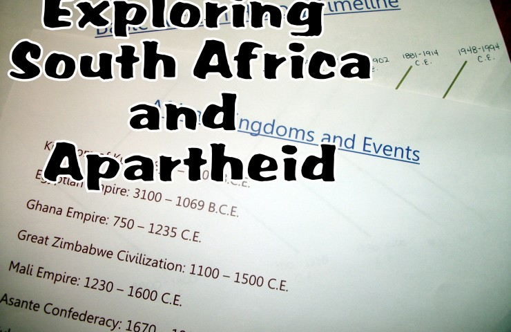 Day 10: South Africa and Apartheid