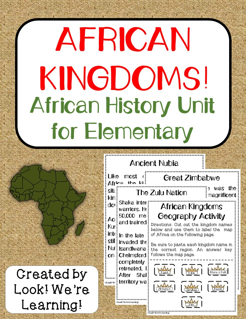 African Kingdoms - African History Printable Unit Study