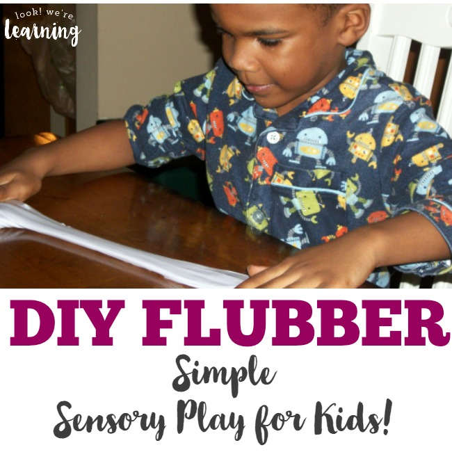 DIY Flubber Sensory Activity for Kids