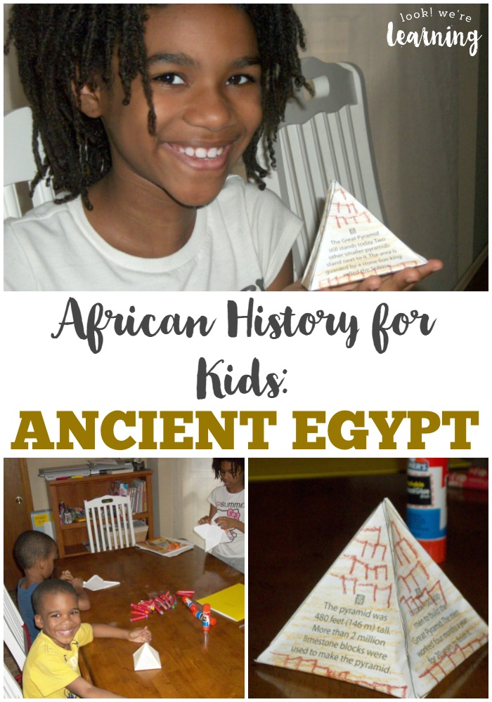 Get started learning African history for kids with this unit about ancient Egypt history for kids!