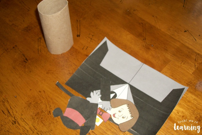 DIY Willy Wonka Toilet Roll Craft