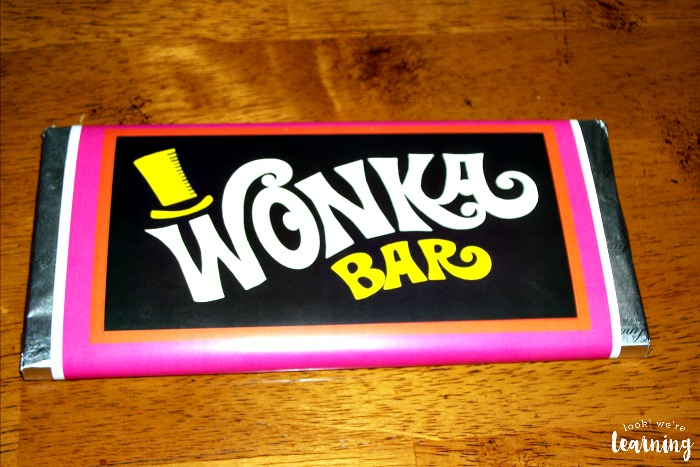 DIY Wonka Bar Treat for Kids