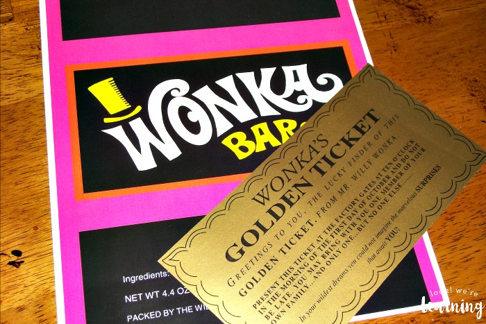 DIY Wonka Bar