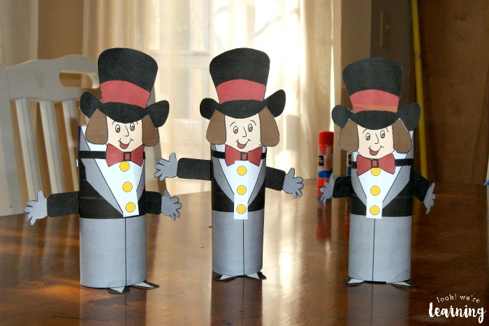 Willy Wonka Toilet Roll Dolls