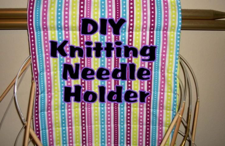 Bee Crafty Kids #31: DIY Knitting Needle Holder