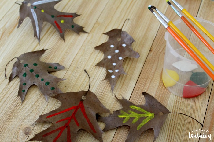 Easy Fall Leaf Garland Craft for Kids