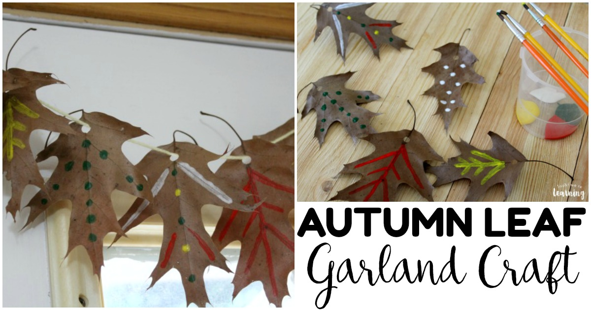 Fun and Easy Fall Leaf Garland Craft for Kids