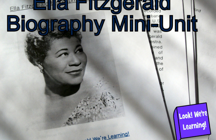 Ella Fitzgerald Biography Mini-Unit