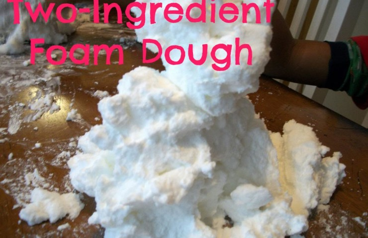 12 Months of Sensory Dough: Foam Dough