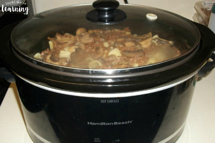 Slow Cooker Rigatoni Recipe