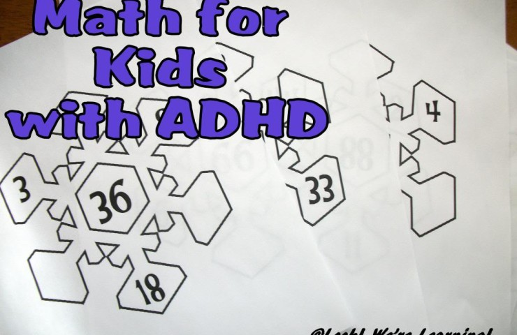 How I Teach Math to My Kids with ADHD