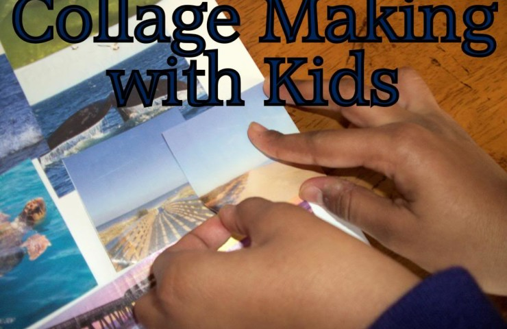 Collage Making with Kids