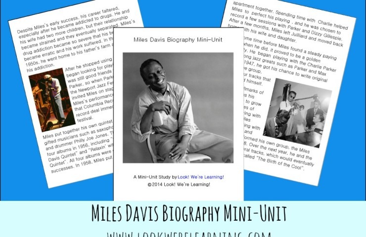 Miles Davis Biography Mini-Unit