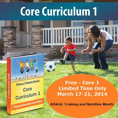 Free Homeschool PE Curriculum!