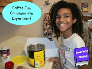 Coffee Can Condensation Experiment