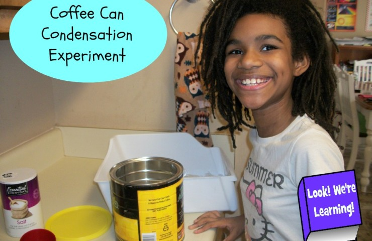 Simple Science Experiments: Coffee Can Condensation Science Experiment