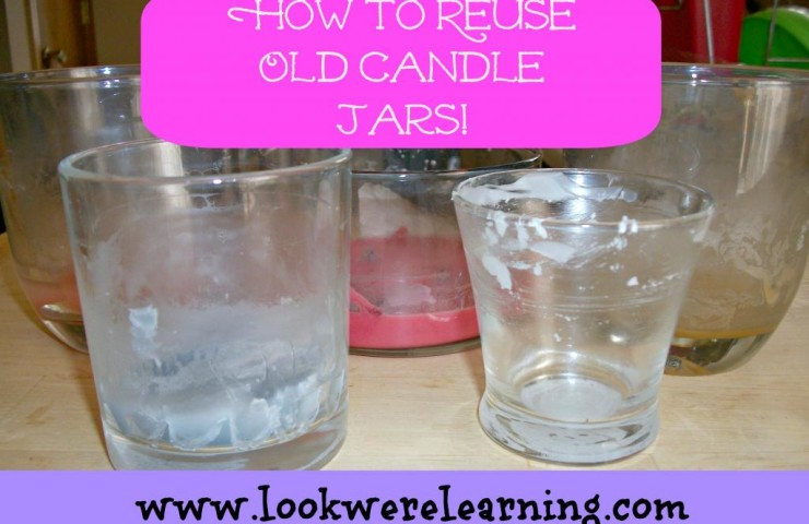 How to Reuse Old Candle Jars