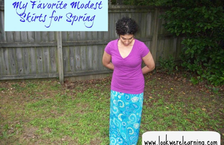 Seasonal Skirts: My Favorite Modest Skirts for Spring