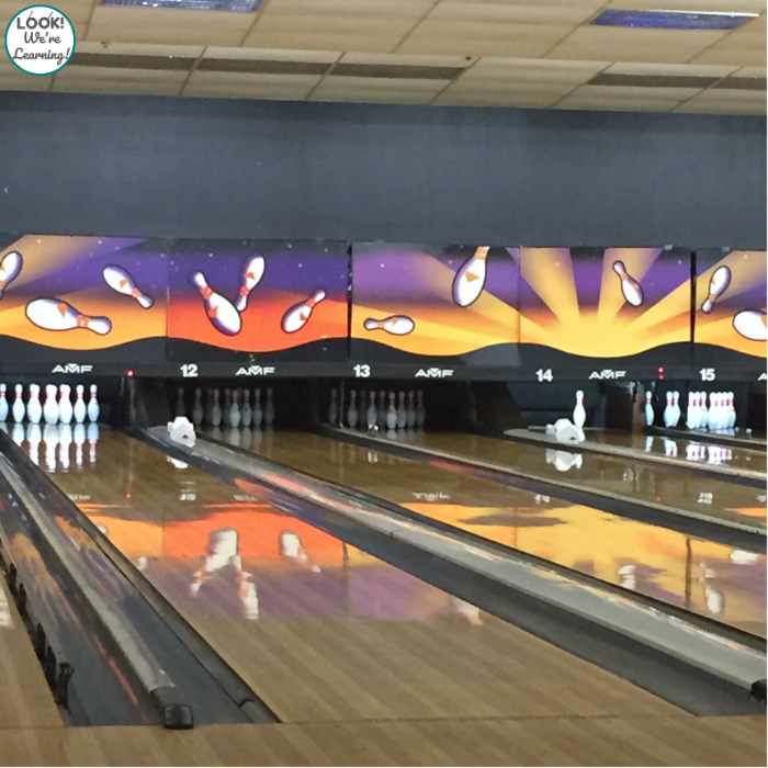 Going Bowling with Kids