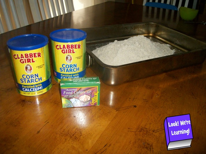 DIY Colored Moon Sand Recipe