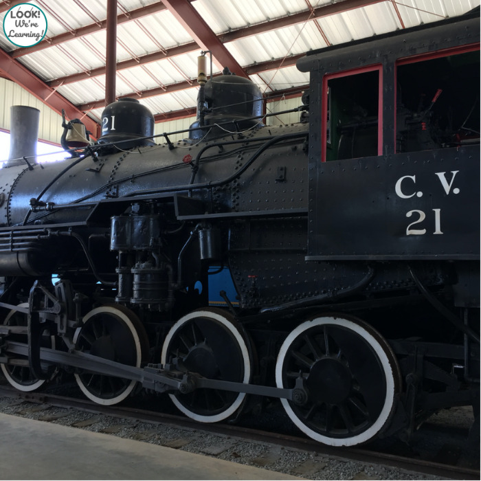 Visiting the Southeastern Railway Museum on a Staycation