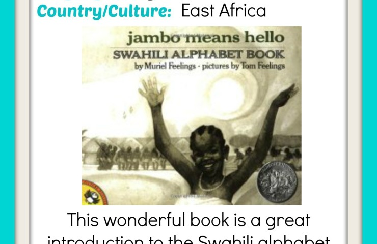 Learn the Swahili Alphabet with Jambo Means Hello